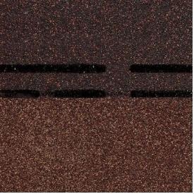 Коньково-карнизная черепица Docke PIE GOLD 1000х333х3,1 мм амаретто