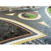 Укладання тротуарної плитки ФЕМ