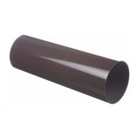 Труба водостічна Docke Lux 100 мм 3 м шоколад