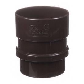Муфта труби Docke Lux шоколад