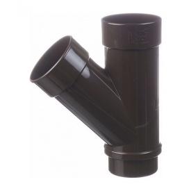 Тройник Docke Lux 100 мм шоколад