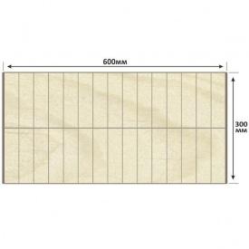 Брус сухой клееный прямоугольный LesCo карпатская ель 600х300 мм 18 м