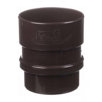 Муфта трубы Docke Lux шоколад