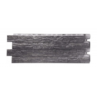 Фасадна панель Docke Stein 1196х426 мм базальт