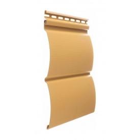 Сайдинг Docke Блок Хаус 3660х240х1,1 мм карамель