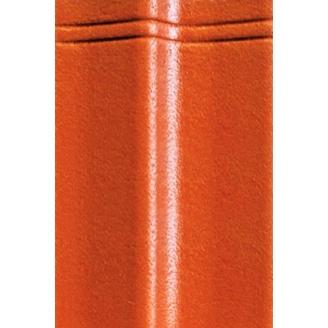 Цементно-песчаная черепица EURONIT Duratop Profil S 334х420 мм ярко красный (00570)