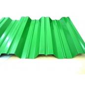 Профнастил ЕвроСтрой Н-35 0,5 мм 1080 мм цинк/полимер зеленый