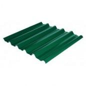 Профнастил ЕвроСтрой ПС-44 0,5 мм цинк/полимер (Словакия) зеленый