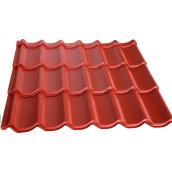 Металлочерепица монтеррей 0,5 мм красная