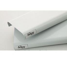 Панель рейкової стелі 84 мм біла глянцева (0101)