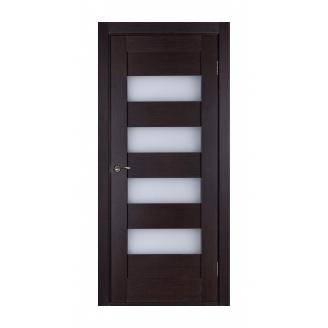 Дверь межкомнатная Двери Белоруссии Горизонталь ПО 600х2000 мм венге