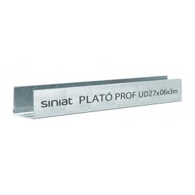 Профиль SINIAT PLATO Prof UD металлический 27x3000x0,55 мм