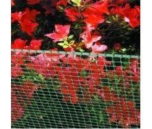 Сітка для огорожі декоративна Tenax Quadra 9x9 мм 1x50 м зелена