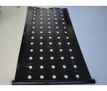 Плівка для мульчування з перфорацією Е1103 25 мкм 1,2x1000 м чорна