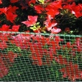 Сетка для ограждения декоративная Tenax Quadra 9x9 мм 1x50 м зеленая