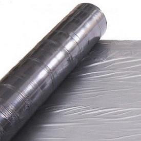 Пленка мульчирующая Е1144 25 мкм 1,2x1000 м серебристо-черная