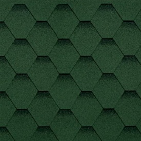 Битумная черепица Shinglas Финская соната зеленый