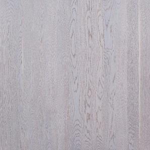 Паркетна дошка односмугова Focus Floor Дуб ETESIAN WHITE сніжно-белий матовий лак 1800х138х14 мм