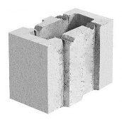 Блок керамзибетонный стіновий 130х250х200 мм