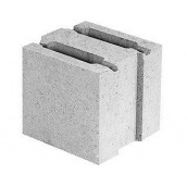 Блок бетонный перегородочный 200х190х188 мм