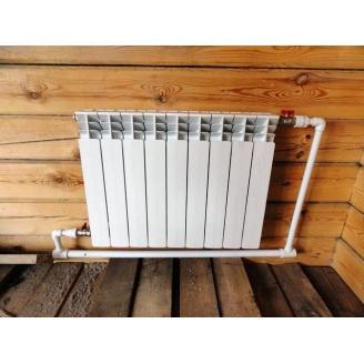 Монтаж радиатора для отопления