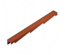 Торцевая планка Metrotile BBCL 1250x100 мм красная