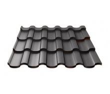 Металочерепиця Ruukki Adamante Pural Matt 0,5 мм чорний