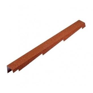 Торцева планка Metrotile BBCP 1250x100 мм червона