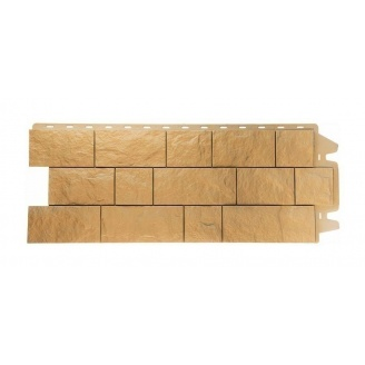 Фасадная панель Docke Fels Elfenfels 1150х450 мм слоновая кость
