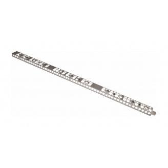 Плоский профиль широкий Альта-Профиль тип В 1305х73х30 мм