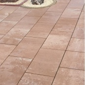 Тротуарная плитка Золотой Мандарин Монолит 600х400х80 мм тренто