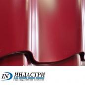 Металлочерепица ПК Индастри Industry 0,4x1250 мм 1195/1105 мм глянцевый полиэстер РЕ RAL 3005