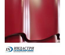 Металлочерепица ПК Индастри Monterrey 0,4x1250 мм 1195/1105 мм глянцевый полиэстер РЕ RAL 3005