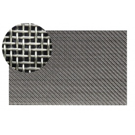 Сетка тканая нержавеющая 08Х18Н10Т ГОСТ 3826-82 0,2-0,19 мм