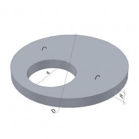 Крышка для колодца ПП10-2 ТМ «Бетон от Ковальской» 1190х700х150 мм
