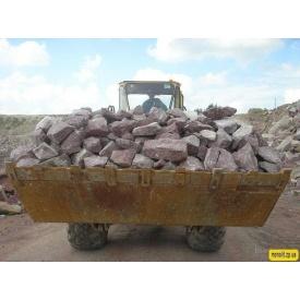 Бутовый камень 300-500 мм