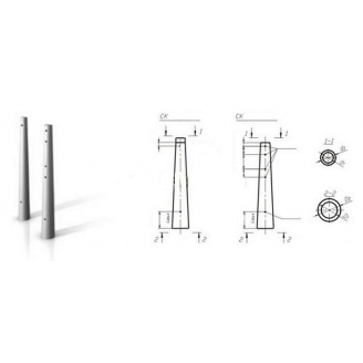 Опора СК 105-12 для ЛЭП 10500 мм