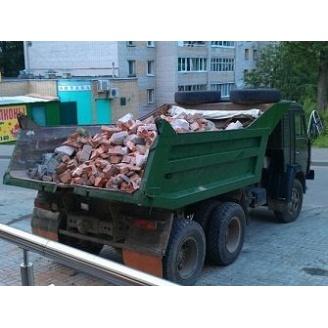 Вивіз будівельного сміття Камазом