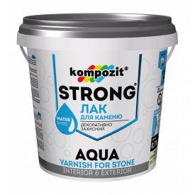 Лак для каменю Kompozit STRONG AQUA 2,5 л