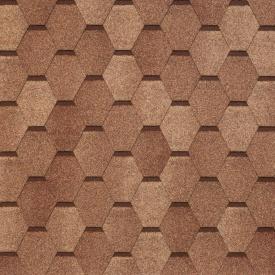 Бітумно-полімерна черепиця Tegola Nobil Tile Вест 1000х337 мм темно-сірий (Копія)