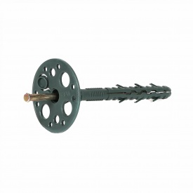 Дюбель Masterplast с металлическим гвоздем и термозаглушкою 10х160 мм