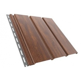 Панель Budmat без перфорації 3 м світло-коричнева