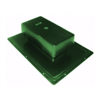 Аэратор Tegola Специальный 25 м2 зеленый