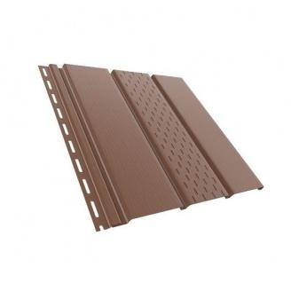 Панель Budmat перфорированная 3 м светло-коричневая
