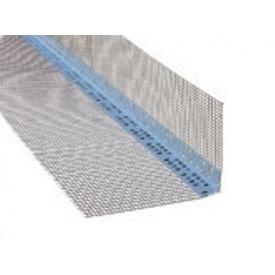 Профіль Masterplast ПВХ із сіткою з скловолокна для зовнішніх кутів 70х70х3000 мм