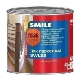 Лак паркетный SMILE SWL-22 полуматовый 2,3 л