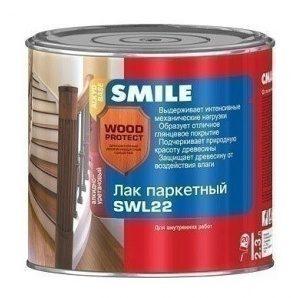 Лак паркетний SMILE SWL-22 напівматовий 2,3 л