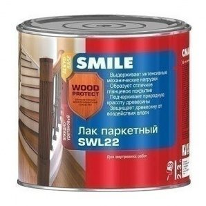 Лак паркетний SMILE SWL-22 глянцевий 2,3 л