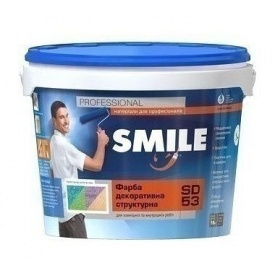 Фарба структурна SMILE SD-53 модифікована 8 кг