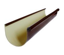 Ринва Альта-Профіль Еліт 125 мм 3 м коричневий
